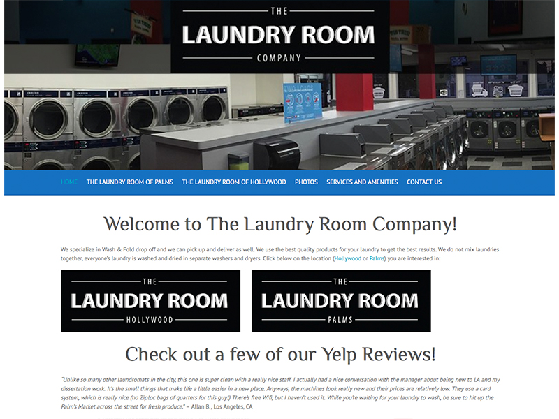 coin laundromat website